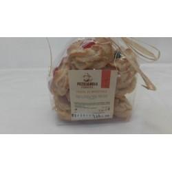 Pasta di mandorle con ciliegia biscotti del Cilento Forneria Pizzicagnolo